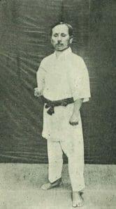 funakoshi sensei gedan barai
