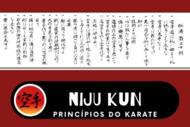 Niju kun - Princípios Fundamentais do Karate