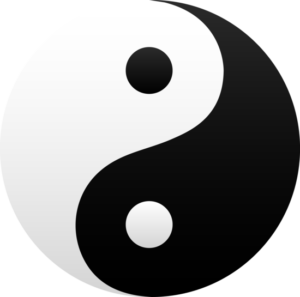 yin yang equilibrio karate