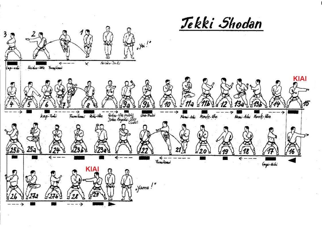 Esquema Tekki Shodan